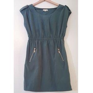 Forever 21 | Muted Teal Sleeveless Mini Dress
